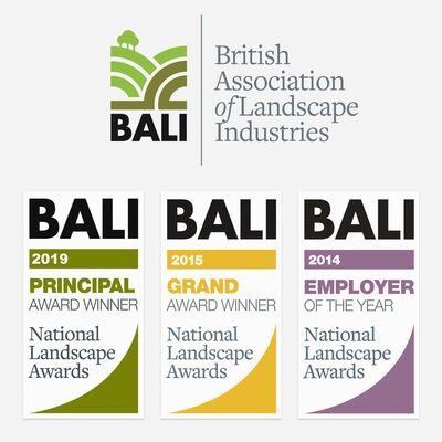 BALI Award Winners - Logos of various BALI awards