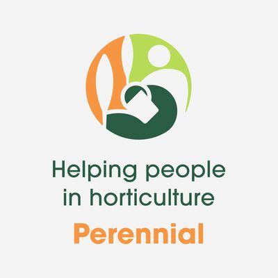 Perennial logo helping people in horticulture