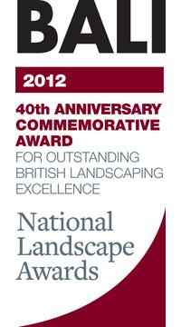 BALI 40th Anniversary Commemorative Award Award Logo