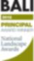 BALI Principal Award Winner Award Logo