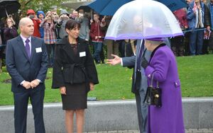 Ken Meets The Queen