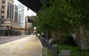 London Wall out edge