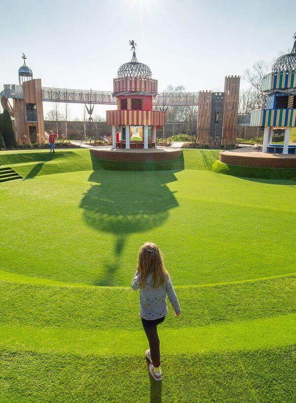 Magic Garden Swns Hampton Playground 80