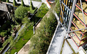 Neo Bankside2 pocket park