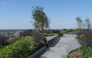 Ropemaker roof terrace 014 Townshend Landscape Architects
