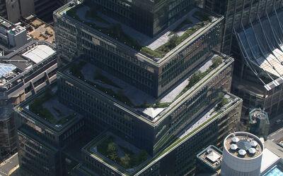 Ropemaker Roof Terrace aerial 05