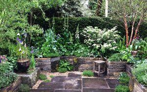 29 Chelsea Flower Show 2016 Garden Bed planting